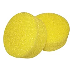 2 Replacement Sponges for Swiveling Back Scrubber by Ableware