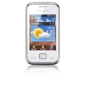 Samsung C3310 Player mini 2 Smartphone EDGE Quadri-bande Bluetooth Blanc