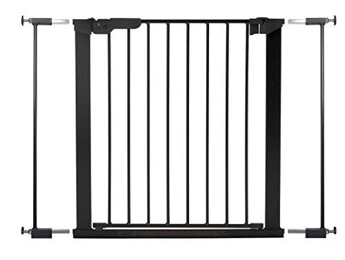 Baby Dan Premier Barrière à Fixation par Pression pour Porte/Escalier, Noir, 73,5 - 79,6 cm