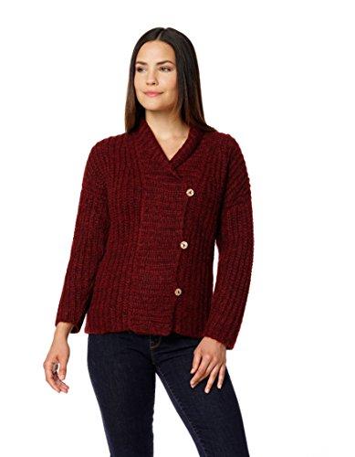 invisible-world-cardigan-maniche-lunghe-donna-rosso-xl
