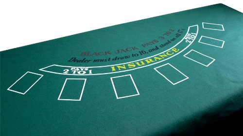 Blackjack Green Table Felt