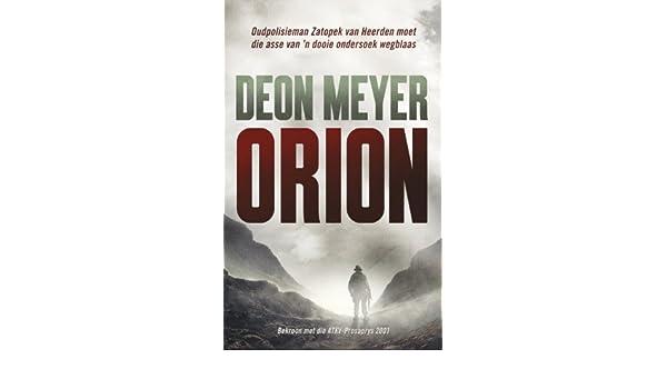 Orion afrikaans edition ebook deon meyer amazon kindle store fandeluxe Gallery
