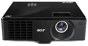 Acer X1213P DLP-Projektor (XGA, Kontrast 10000:1, 1024 x 768 Pixel, 3200 ANSI Lumen, EU) schwarz