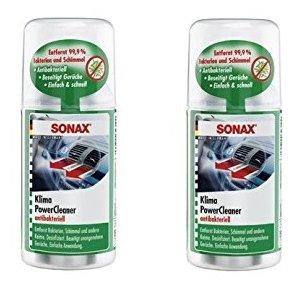 nuevo-set-2-x-150-ml-sonax-aire-acondicionado-limpiador-desinfizierer-aire-acondicionado-desinfectan