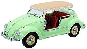 Schuco Dickie 450008000-VW Escarabajo Jolly 1: 18, Color Verde