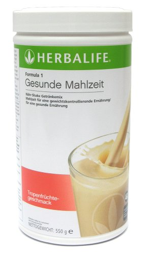 Herbalife Formula 1 Gesunde Mahlzeit Tropenfrucht 550 g
