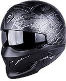 Scorpion Casco Moto exo-combat ratnik, Matt black, m