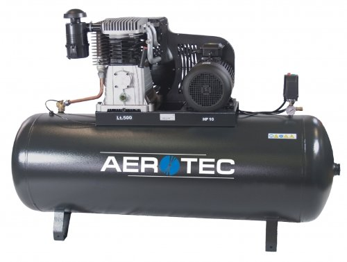 AEROTEC compresor B70-500 ft 10bar 10PS 500L, nuevo