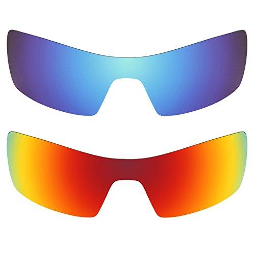 Revant Ersatzlinsen für Oakley Oil Rig Polarisiert 2 Paar Kombipack K002