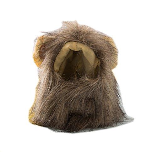 Modelshow-Pet-Lion-Headdress-Funny-Pet-Accessories-Sombrero-de-piel-sinttica-para-gato
