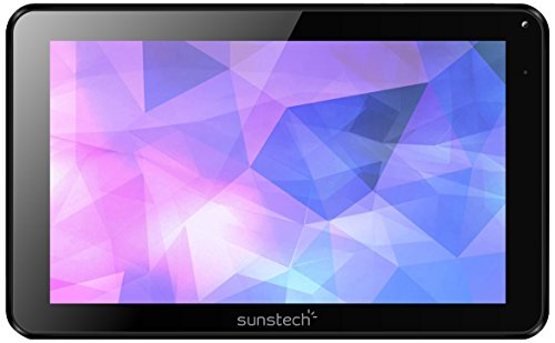 "Sunstech TAB918QCBT - Tablet de 9"" (WiFi, Allwinner A33 Quad Core 1.3 GHz, 1 GB de RAM, 16 GB de Memoria Interna, Android 5.1 Lollipop) Color Negro"