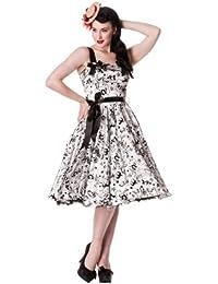 Hell Bunny Kleid TATTOO FLOCK DRESS