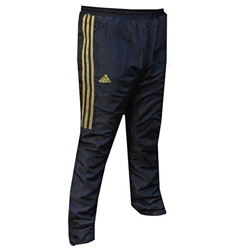 Pantalone tuta adidas gold stripes xs nero