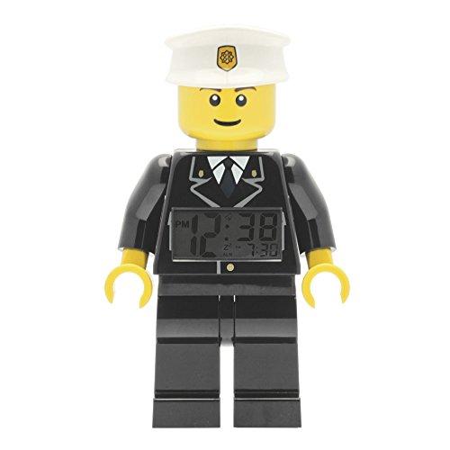 Clic Time CT00227 - Despertador con diseño de policía de LEGO City