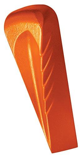 Fiskars Dreh-Spaltkeil, Für Kunststoffhammer, Gehärteter Stahl (geschmiedet), Orange, 1000600