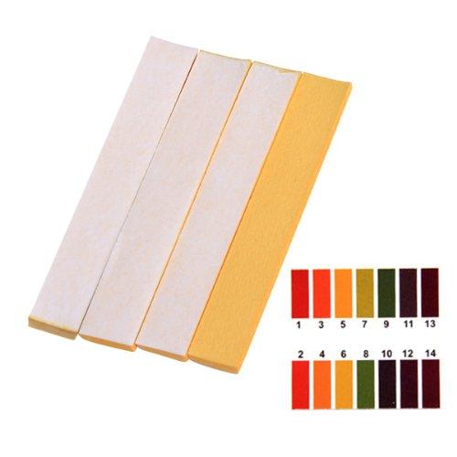 Packung mit 80 Streifen pH 1-14 Allgemeinen Anzeiger Prüfung Papieren (Ph-papier-teststreifen Labor)