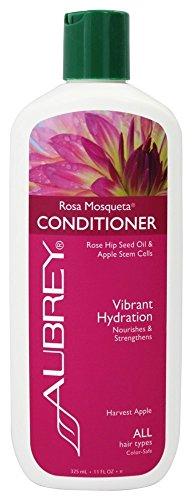 Aubrey Organics - Conditioner-Rosa Mosqueta Vibrant Hydratation-Ernte Apple - 11 Unze. -