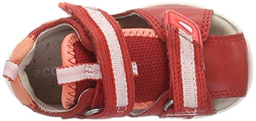 Ecco Lite 753, Chaussures Marche Bébé Fille Rouge (50291Tomato/Coral)