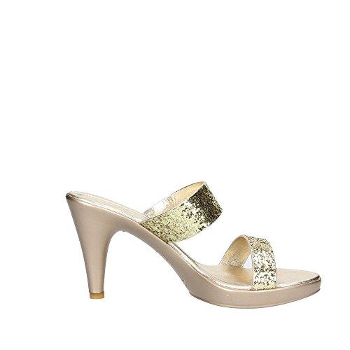 Cinzia Soft 2509 Sandalo Donna Platino