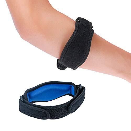 Stanbow Ellenbogenbandage, Verstellbar Basketball Badminton Tennis Golf Ellenbogen-Bandage mit Kompression Pad für Männer und Frauen
