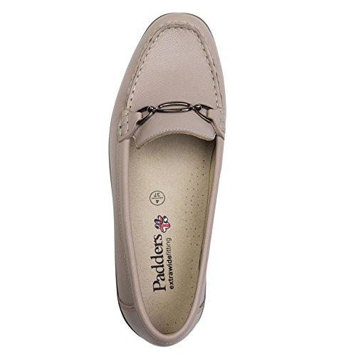 Padders Damen Lederschuhe Ellen | Formale Slip-On Schuhe | Extra Breite EE Größe | 40mm Absatz | kostenloser Rückversand nach UK (4e Breite Schuhe)