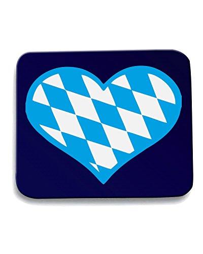 t-shirtshock-tappetino-mouse-pad-beer0033-bavaria-flag-heart-dark-tshirt-taglia-taglia-unica