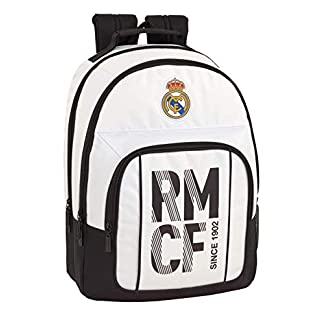 41dNcXYEssL. SS324  - Real madrid cf Mochila Grande Doble Adaptable a Carro.