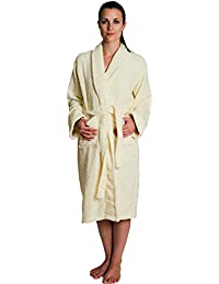 Women's, Men's Bathrobe PLUS SLIPPERS, Terry Towelling Gown ALL COLOURS Stars & Stripes Bathrobes