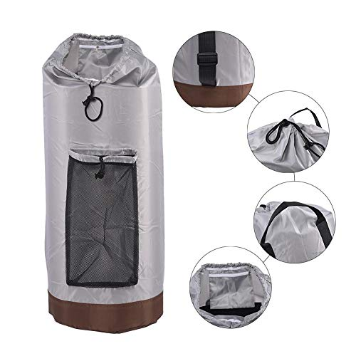 Dreameryoly Wäschesack, FaltbarerWäscherucksack Mit Schultergurten Und Netztasche Für Campingreisen