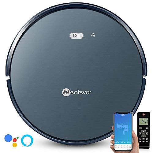 NEATSVOR X500 Robot Aspirador y fregasuelos 4 en 1, Control por App y Alexa, WiFi, 4 Modos de Limpieza...