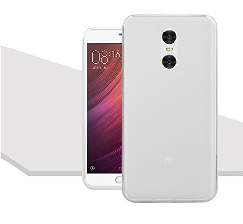 Xiaomi Redmi Note 4 Back Cover White Pudding Soft Silicone TPU Silicon Case  available at amazon for Rs.99