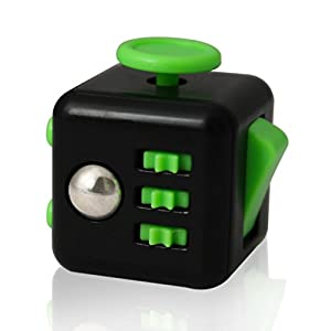 Fidget Cube,DELICACY Anxiety Stress Relieves Cube,Attention Relax Mini Gadget Cube for Tension and Nervousness,Stress Relief , Novelty Gift …