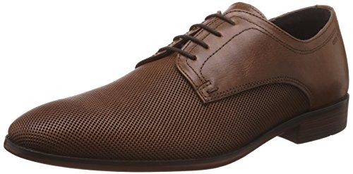 Red Tape Men's Derbys Tan Leather Formal Shoes - 7 UK/India (41 EU)