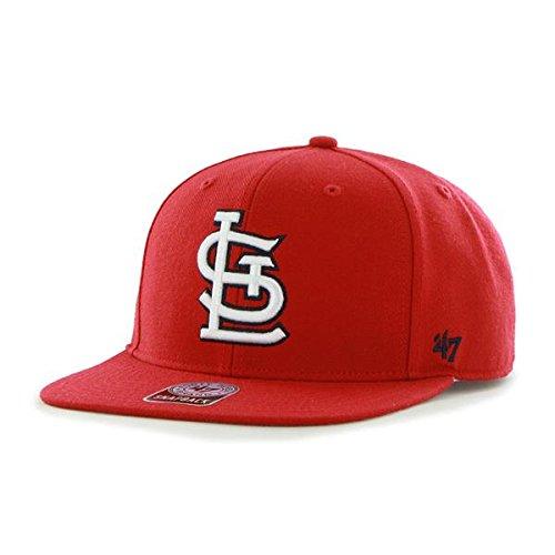 '47 Erwachsene Kappe MLB St Louis Cardinals Sure Shot Captain, Red, OSFA, B-SRS23WBP-RD (Mlb St Louis Cardinals)