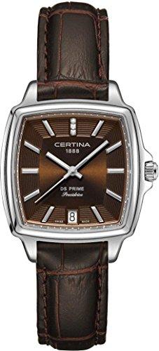 Certina DS Prime C028.310.16.296.00 Reloj de Pulsera para mujeres con diamantes genuinos