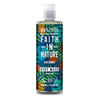 Faith in Nature Natural Coconut Body Wash, Hydrating Vegan and Cruelty Free, Parabens and SLS Free, 400 ml 13