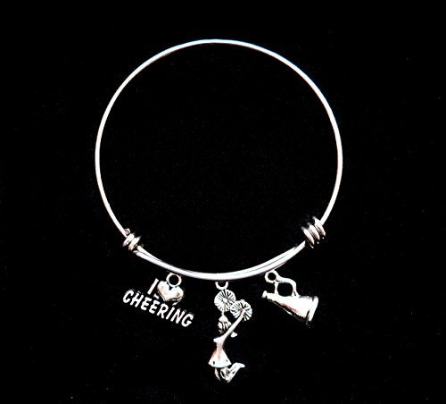 i-love-cheering-bangle-bracelet-charm-expandable-girls-cheerleading-bracelet-perfect-gift-for-cheerl