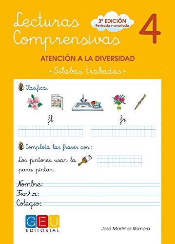 Lecturas comprensivas 4 - Sílabas Trabadas por José Martínez Romero