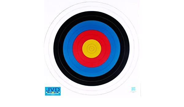 JVD Multi Pack Fita World Archery Compliant Paper Target Face 60cm