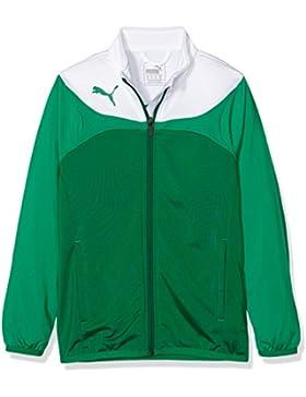 PUMA Jacke Esito 3 Tricot Jacket, Chaqueta para niños, Verde (Power Green-white), 14 años (Talla fabricante: 164)