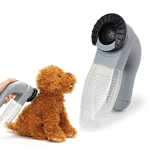 Chuanglan Aspiradora eléctrica para Mascotas, para Eliminar el Pelo de Mascotas, para Perros y Gatos
