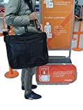 Extra large suit carrier bag