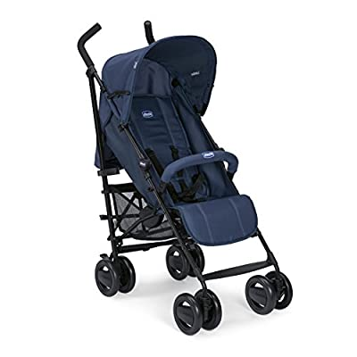 Chicco London - Silla de paseo ligera, compacta y manejable, solo 7,2 kg, color azul, rojo o negro