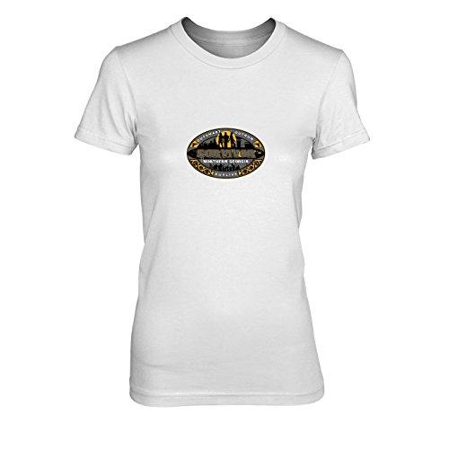 TWD: Survivor - Damen T-Shirt, Größe: XL, Farbe: weiß