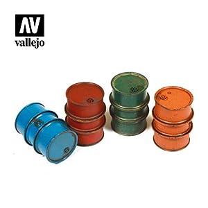 Vallejo SC203 1/35 Zivile - Disparador de Gasolina, 4 Unidades, Diferentes