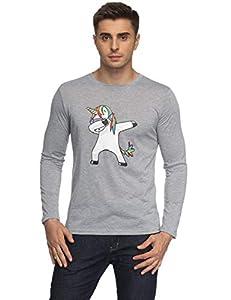 Hombres Dabbing Unicornio Estampado De