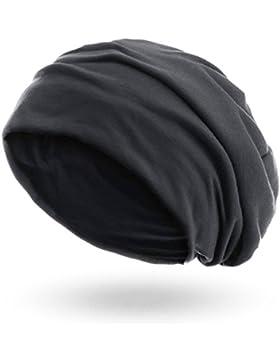style3 Berretto 'Slouch beanie' in jersey traspirante, fino e leggero