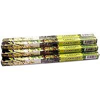 Luxflair Premium Räucherstäbchen Cannabis, XL Set mit 10 Packungen á 8 Räucherstäbchen (80 Stück), lange Brenndauer... preisvergleich bei billige-tabletten.eu