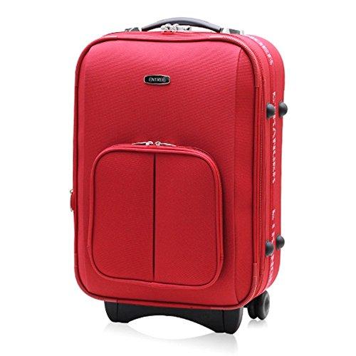 ENTREE - Portatrajes de viaje rojo