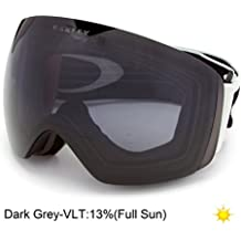 Oakley Skibrille Flight Deck - Gafas de esquí, color gris (light grey/dark grey)
